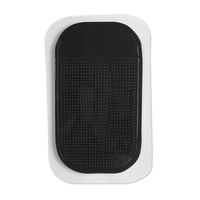 PU car non slip mat phone anti slip pad/ pu car reusable sticky pad pu gel anti slip mat