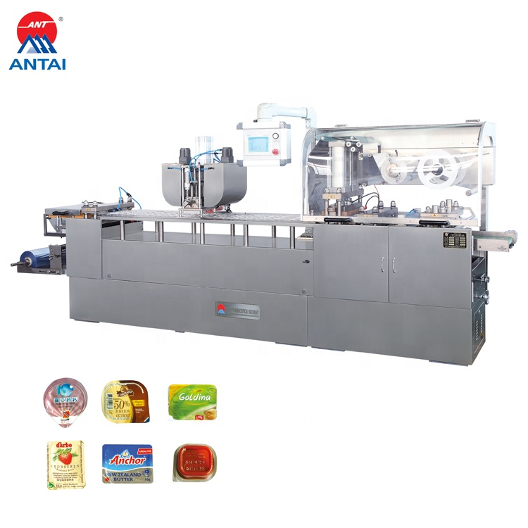 Professional Manufacturing Low Noise  Automatic Chocolates Blister Packing Machine