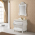 HS-A809A wicker drawer cabinet bathroom/ cheap makeup vanity/ mirror cabinet