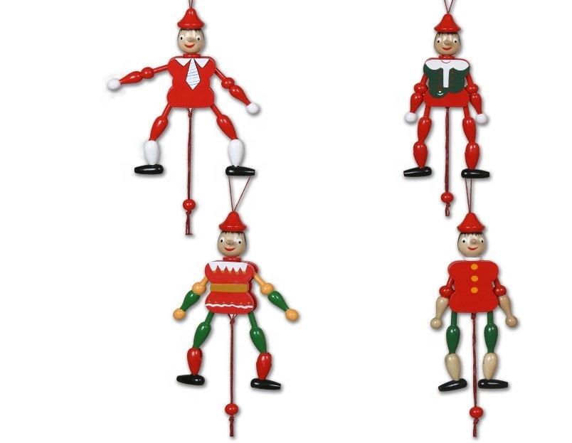 Classic In Legno Pinocchio Personalizzato Pull String Doll