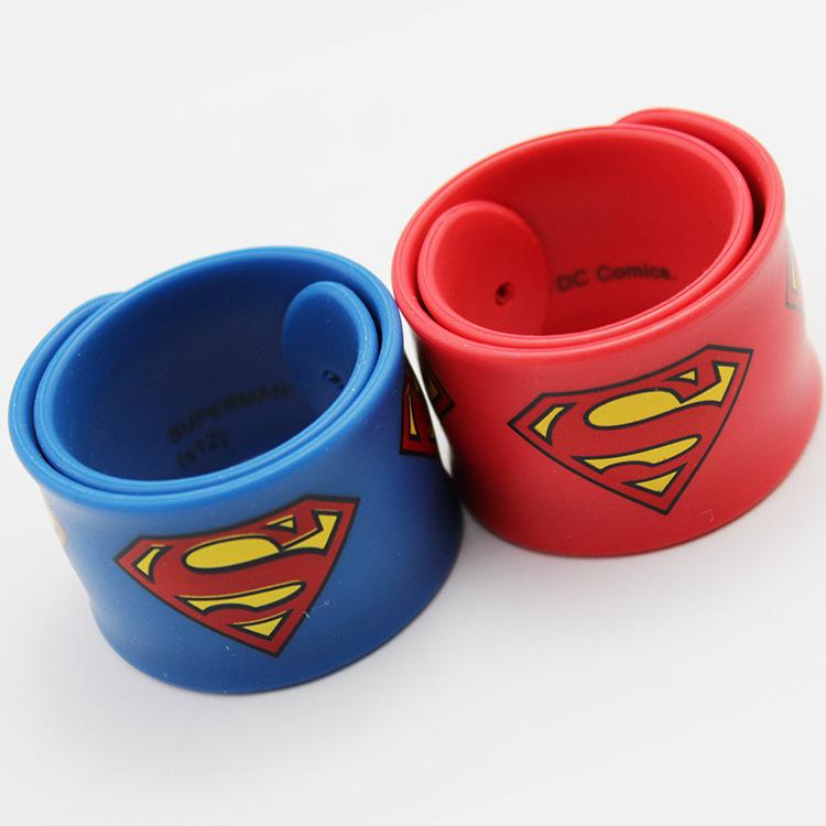 Pulsera Brazalete de Chicos Hombres Super Héroe Superman Batman Spiderman Correa De Flash
