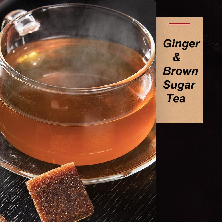 Women Health Warm Womb Instant Brown Sugar Ginger Tea with Factory Price - 4uTea | 4uTea.com
