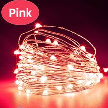 Светодиодный светильник Aimkeeg с медной проволокой, Сказочная лампа для бутылки вина, украшения для рождественских огней, уличных, свадебных ...(Китай)