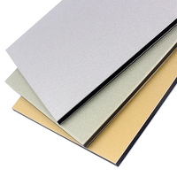 4mm sign board material aluminum plate acm sheet pe pvdf coating composite panel