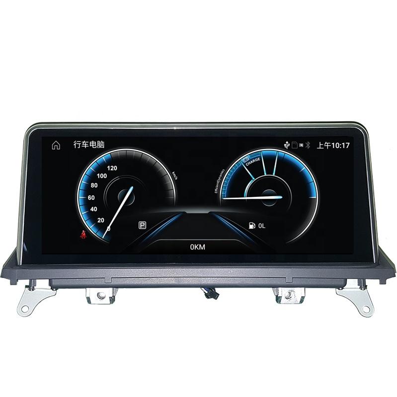 Xe Hệ Thống Đa Phương Tiện Android 10.25 Inch Xe Ô Tô GPS DVD Player Cho BMW X5 E70/X6 E71 2007- 2010 Original CIC Hệ Thống Xe Stereo