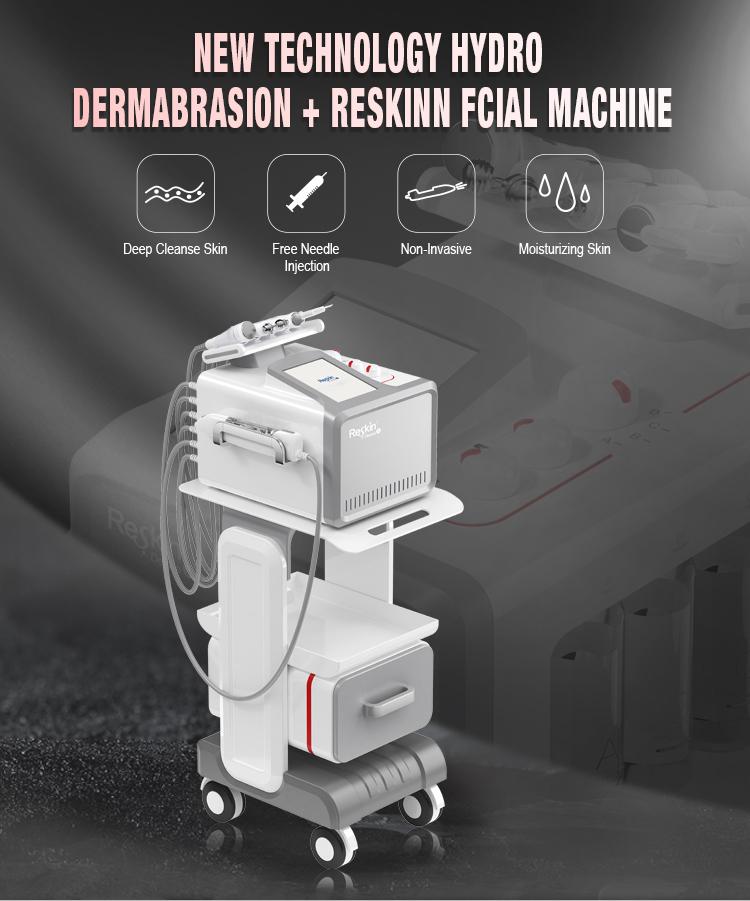 9 In 1 Aqua Peel Water Korea Small Bubble Care Rf Skin Tightening Machine