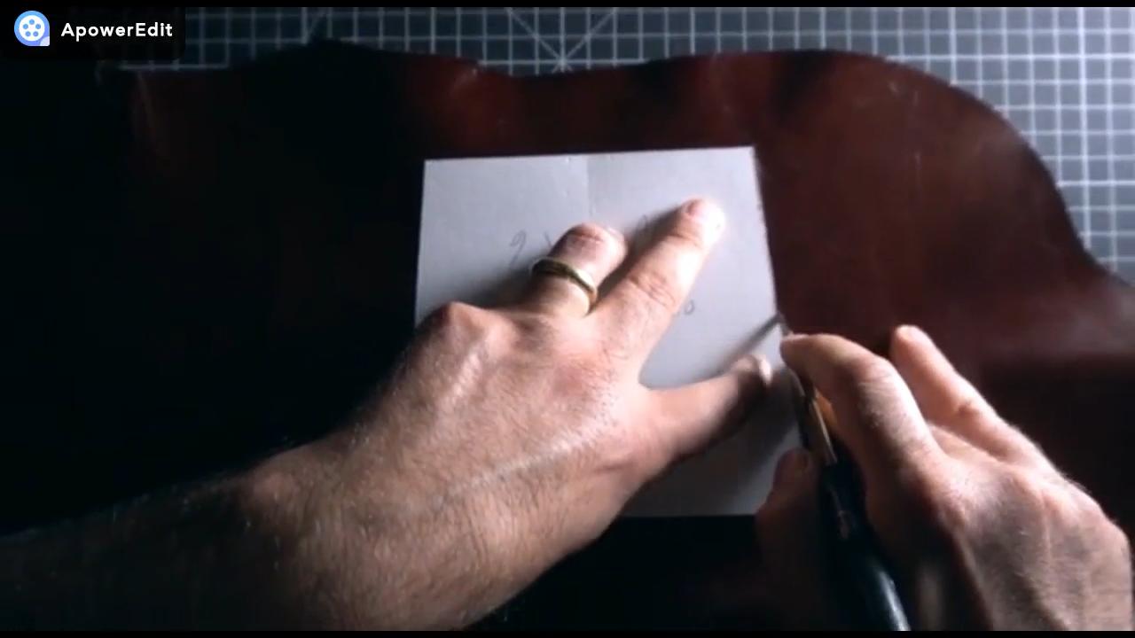 수제 미친 말 가죽 포트폴리오 A4 크기 메모장 3 링 바인더 & 클립