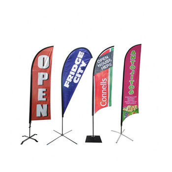 Cheap Teardrop Banner Custom Print Flag Fro Sale