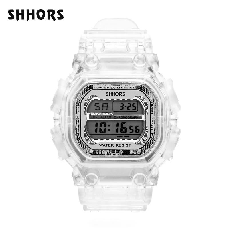 Shhors Watch  Digital Alarm Chronograph Watch  New fashion  Electronic Watch