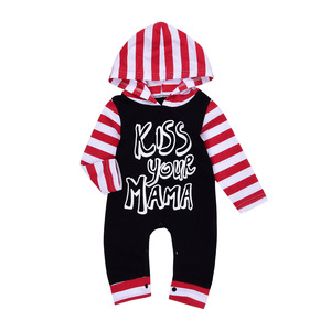 Baby Autumn Hooded Longsleeved Baby Clothes Romper Boy Infant Clothing Romper Jumpsuit
