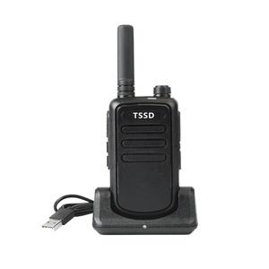 WLN KD-C10 Mini Walkie Talkie TSSD TS-B10 UHF Walkie Talkie
