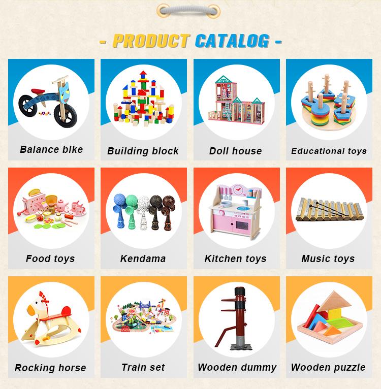 Populaire Kinderen Speelgoed Houten Trein Spoor Set Speelgoed 110