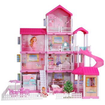 2020 hot sale girl toys doll house toys set pretend baby girl toys