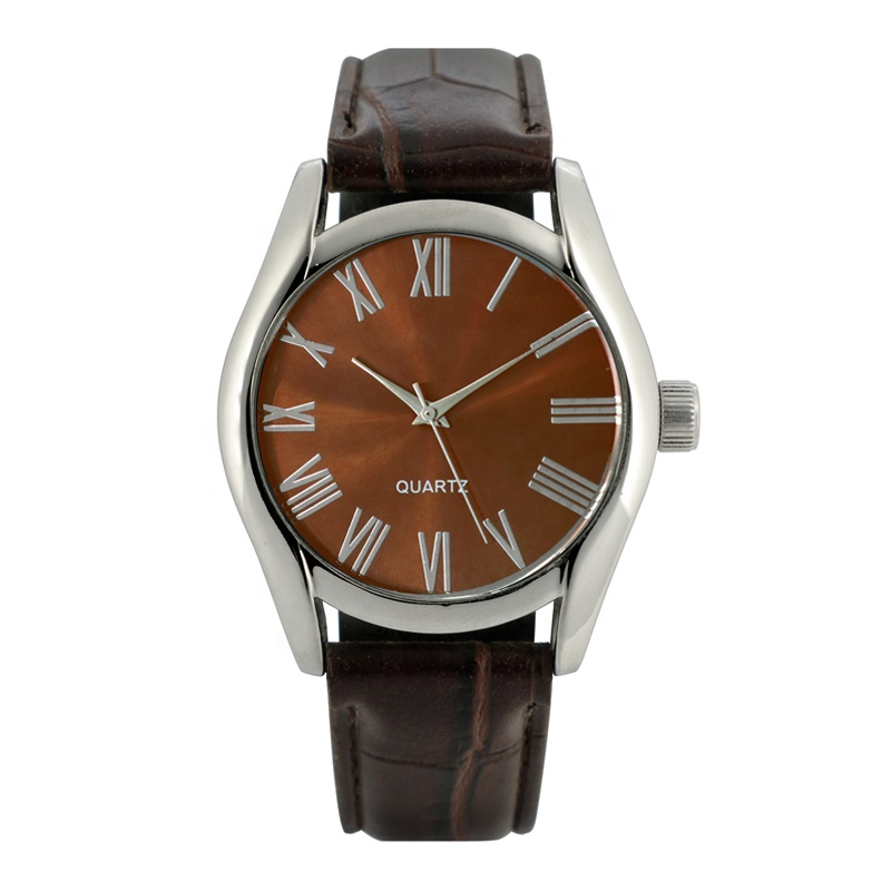 small dial Quartz Watch, Waterproof Leather business Watch For Men