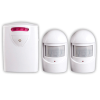 PIR Motion Sensor Detector Wireless Home Security Driveway Alarm