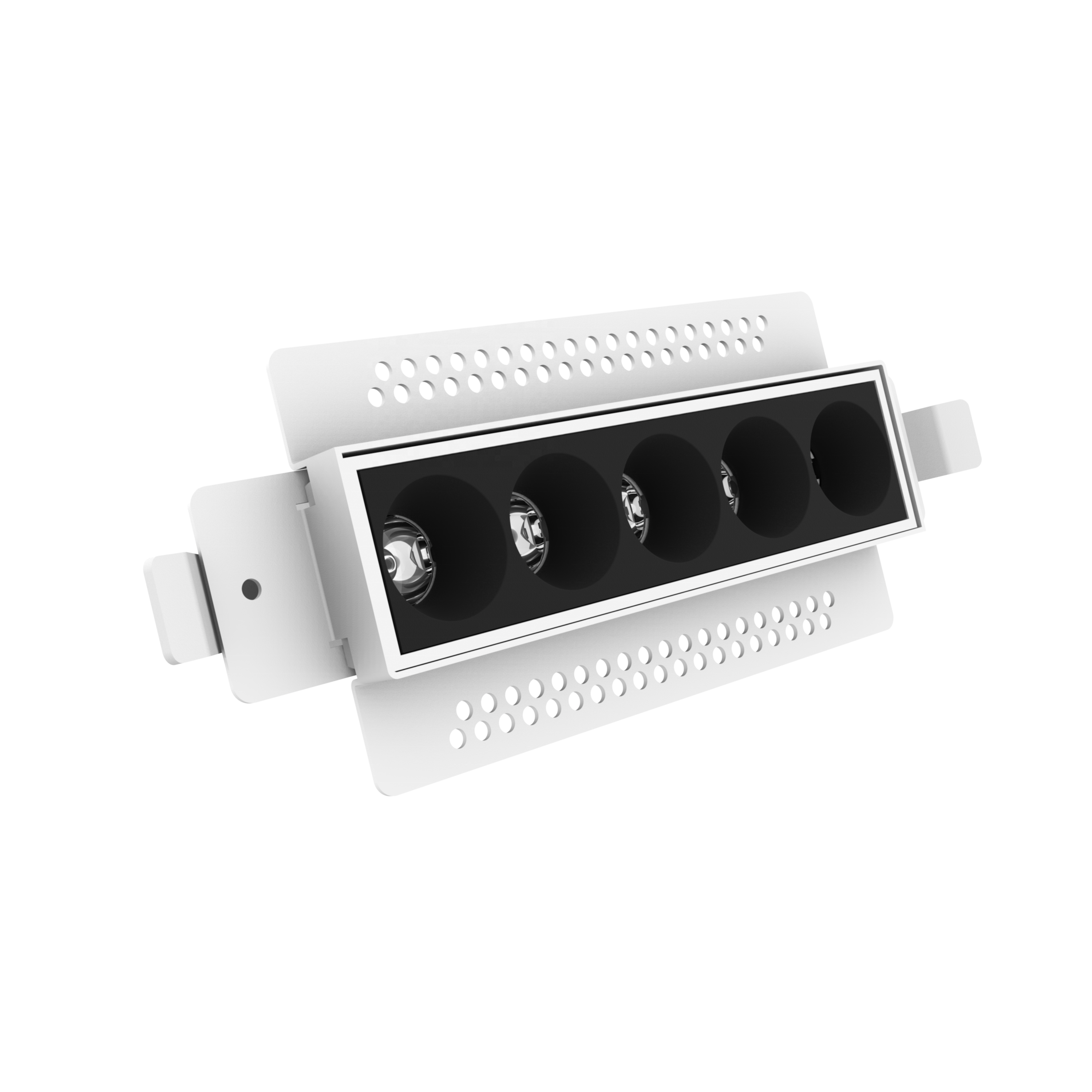 VELLNICE Trimless 10W LED Grille led fire rated downlight  antiglared function five heads light