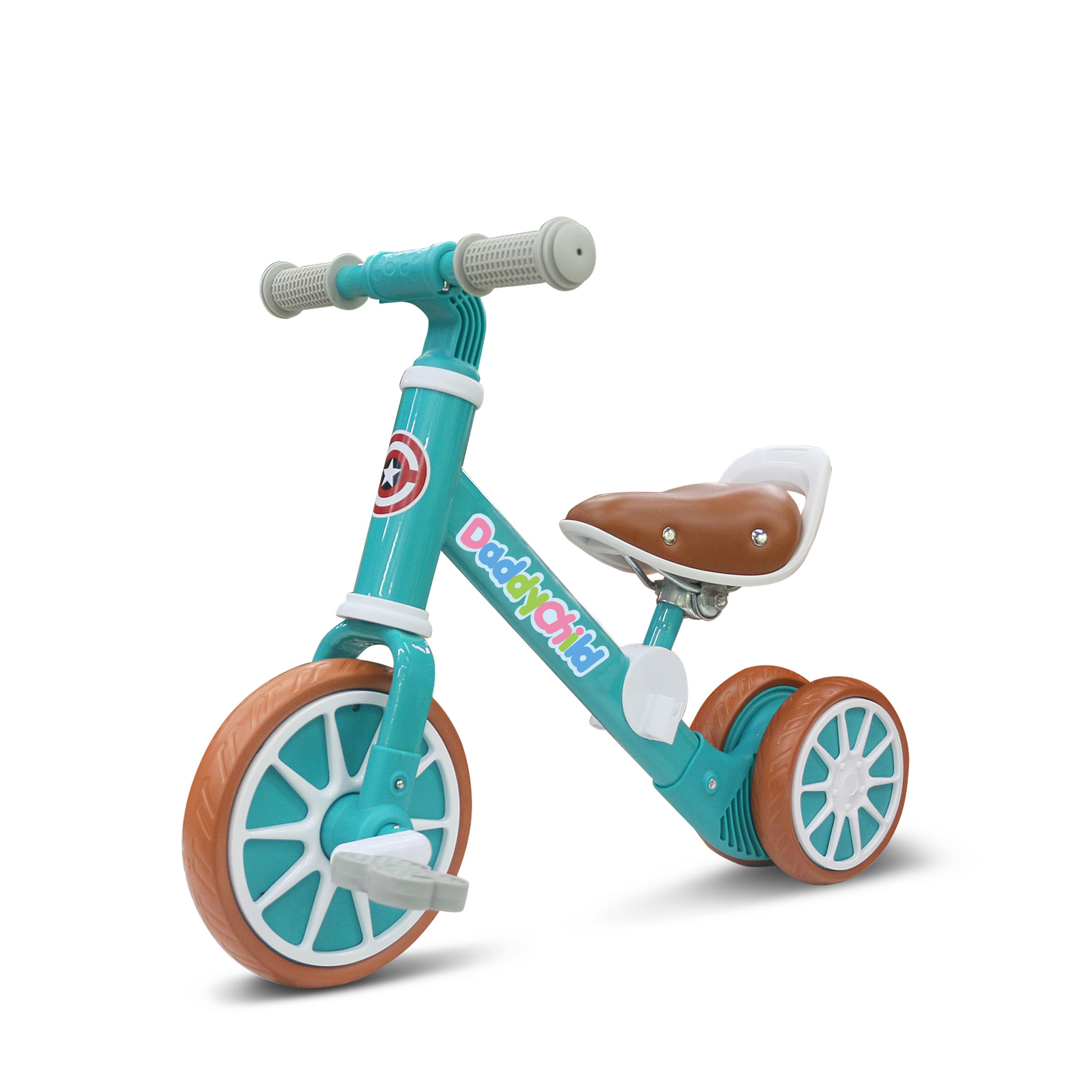 12 inch three wheel children 2 in 1 balance <strong>bicycle</strong> bike