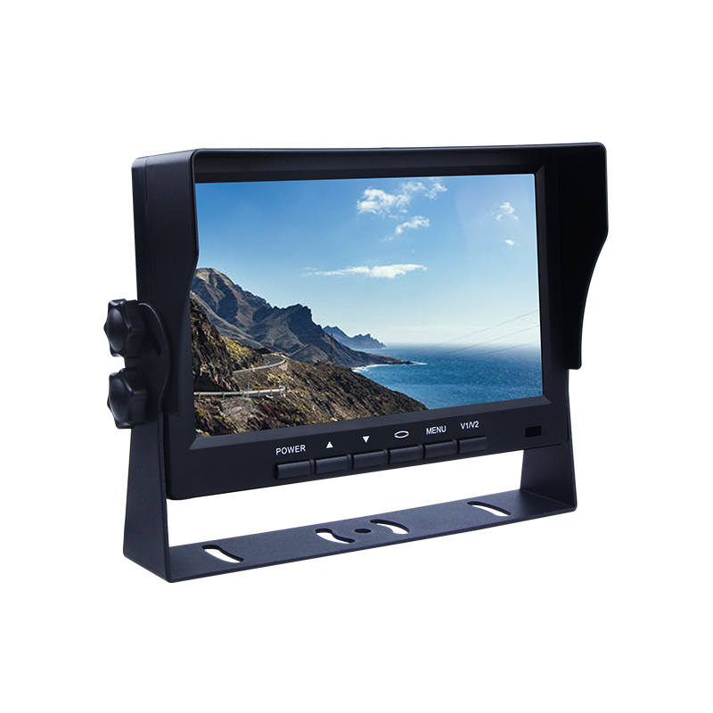 Car truck bus 7 polegadas TFT screen display LCD monitor do carro para câmera de estacionamento