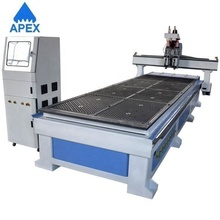 China Wholesale Custom Houten <span class=keywords><strong>Meubilair</strong></span> Maken Dubbele Proces Cnc Router Gebruik Voor Snijden Hout
