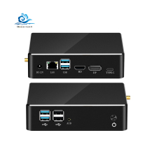 Ordinateur de jeu Intel 8Th Gen Noyau I3 I5 I7 8565U Ddr4 M.2 6Usb Type C Dp Hd 4K Double affichage Windows10 Nuc Bureau Mini Pc