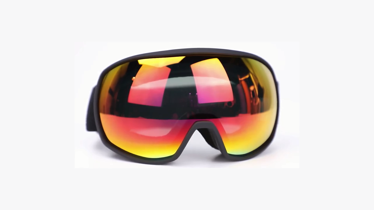 HUBO الرياضة الجملة أرخص CE UV400 التزلج على الجليد نظارات السلامة نظارات رياضية
