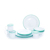 FDA certification european enamel dinnerware picnic camping set for gift
