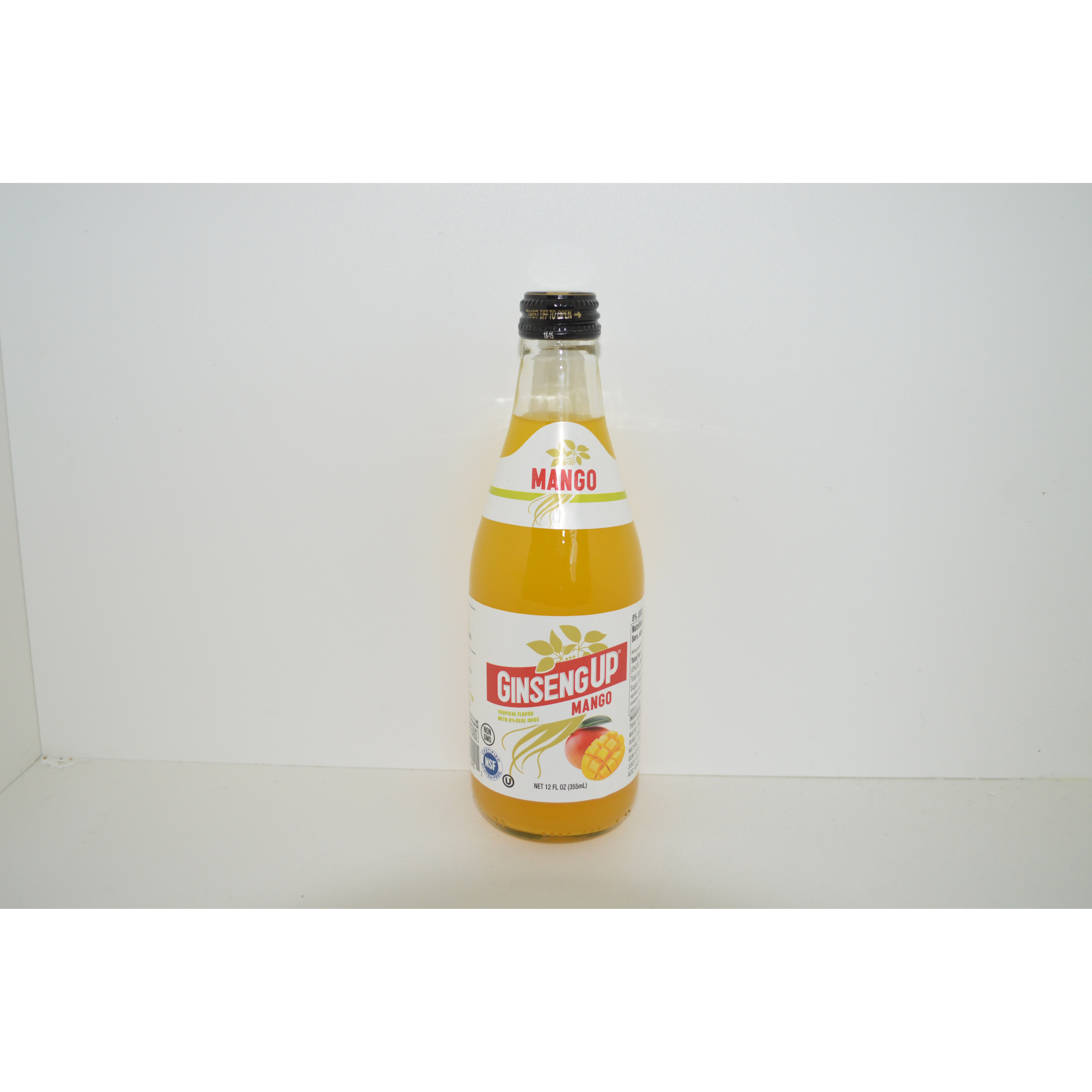 Natural Beverage Natural Soft Drink Mango With Ginseng On Sale