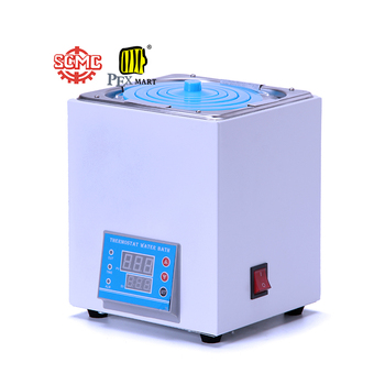 China digital hot water bath laboratory apparatus dental portable principle 6 hole water bath with factory price
