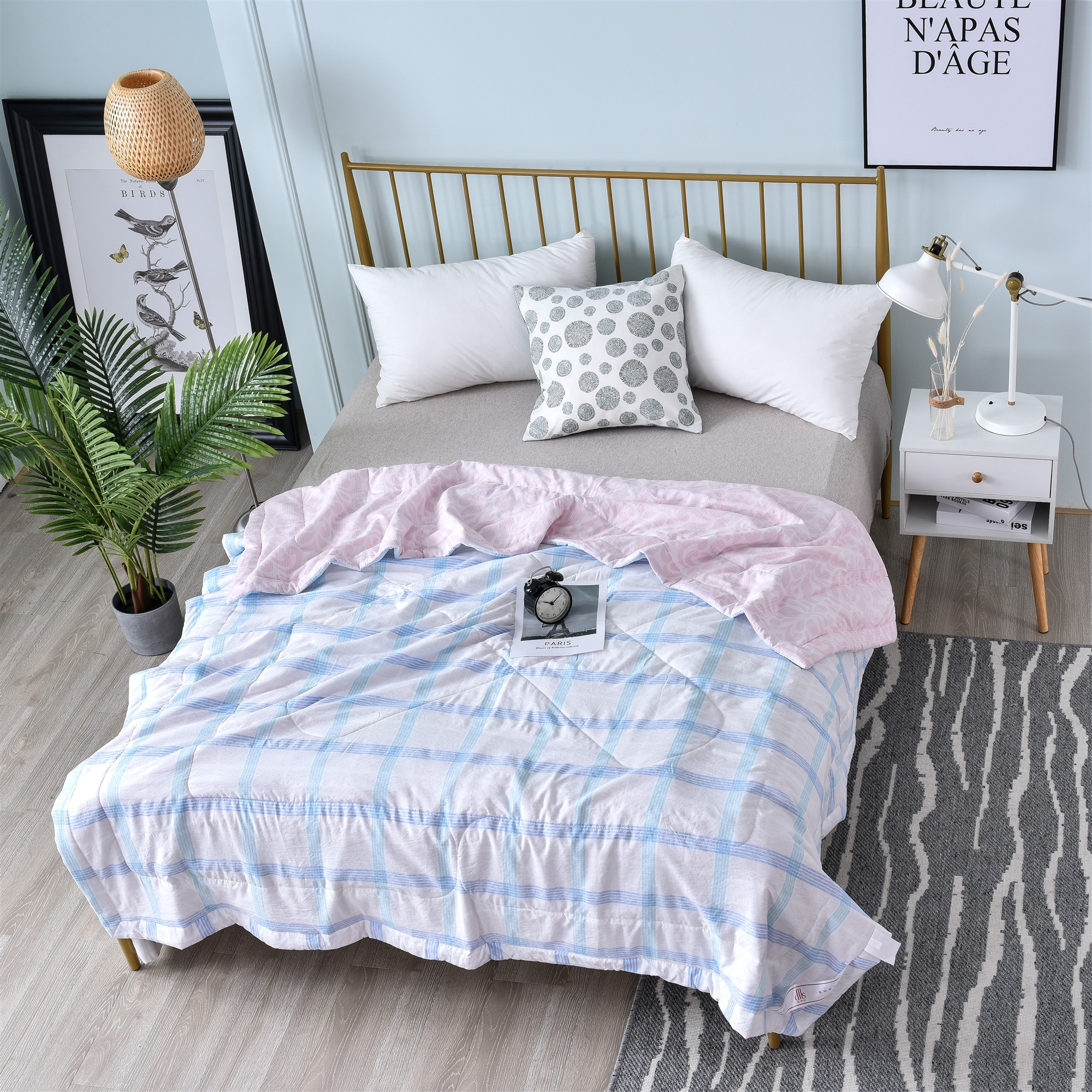 Wholesale Luxury Home Textile Comforter <strong>Set</strong> Design <strong>Bed</strong> Sheet <strong>Set</strong> <strong>King</strong> <strong>Size</strong> 100% Polyester Fiber Summer Quilt