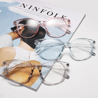 SKYWAY Cheap Price Ready Made Fashion Transparent Optical Frame China Wholesale Korea Style PC Frame Spectacle Frame
