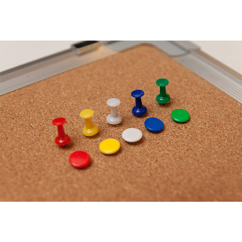 Bulletin Board Set Cork Board Small Wall Hanging Tack Message Memo Picture Board for Home Office