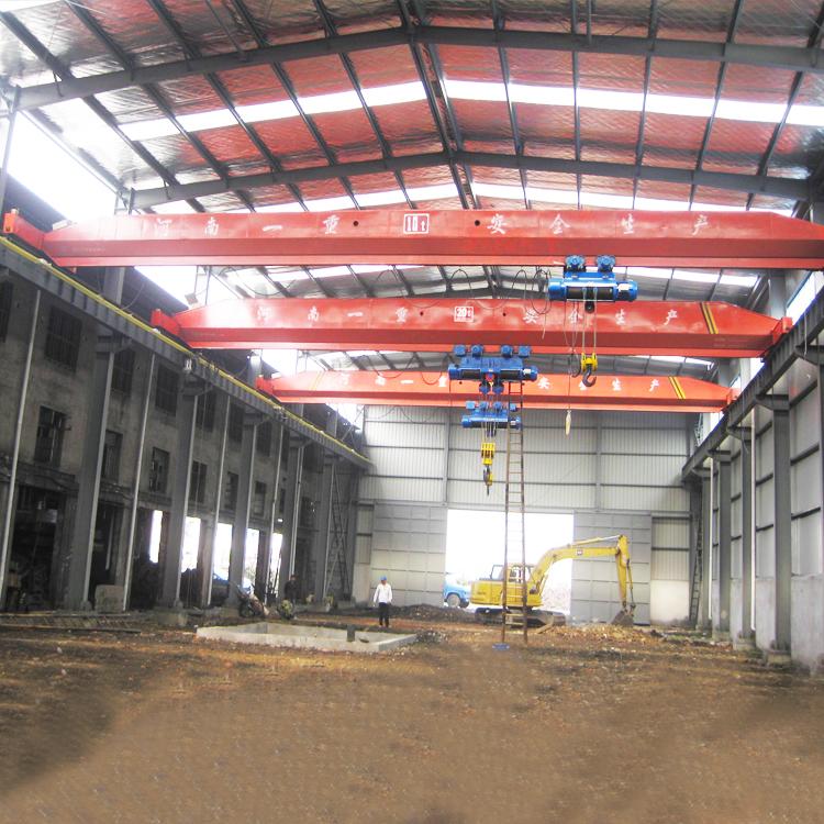 2 ton mini hoist manual single girder overhead crane