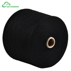 16/1 Regenerated cotton polyester yarn for fleece fabric dyed colors