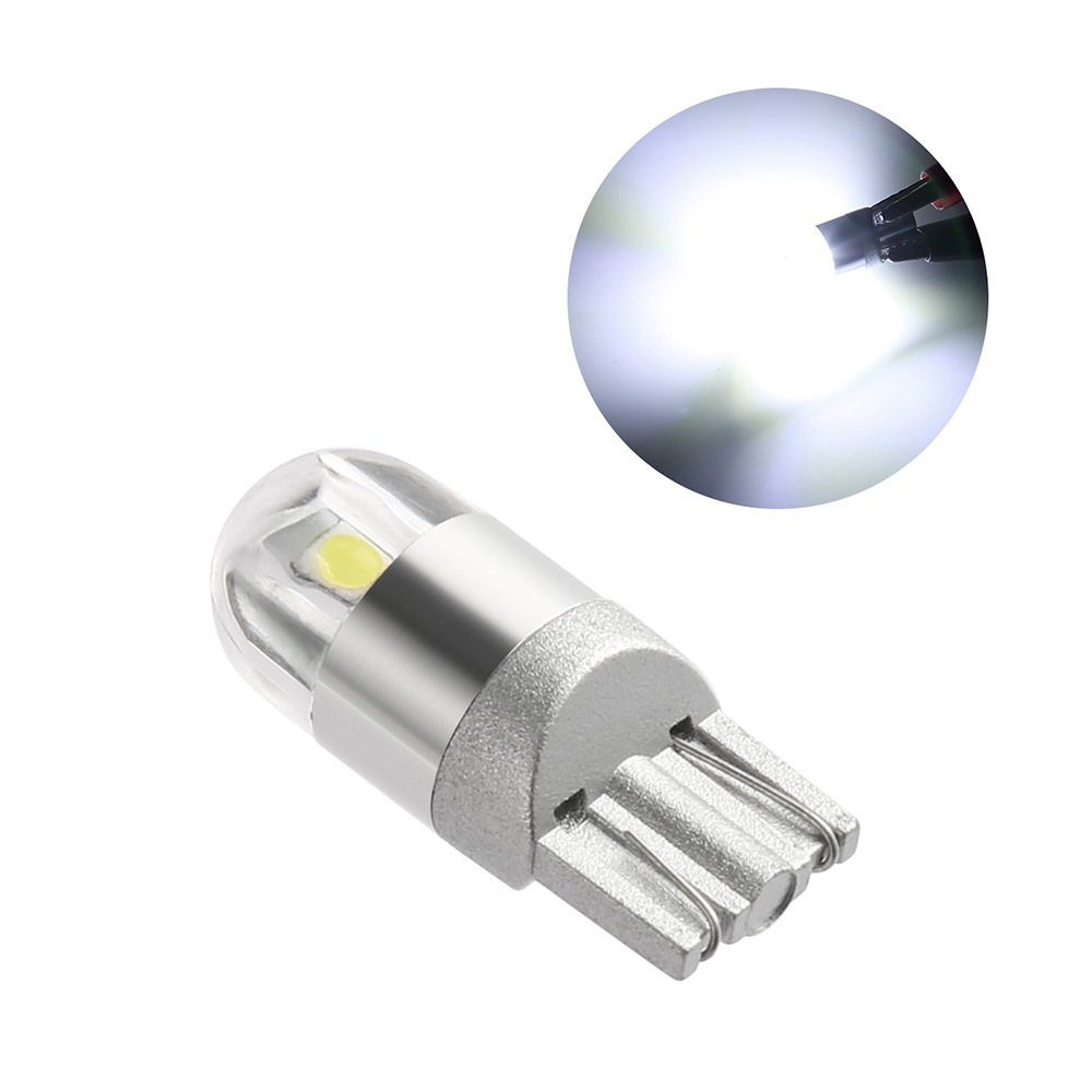 T10 Socket W5W 2 SMD Car Parking Lights White Auto Led Interior Dome Lamp Tail Bulb Car Light Accessories
