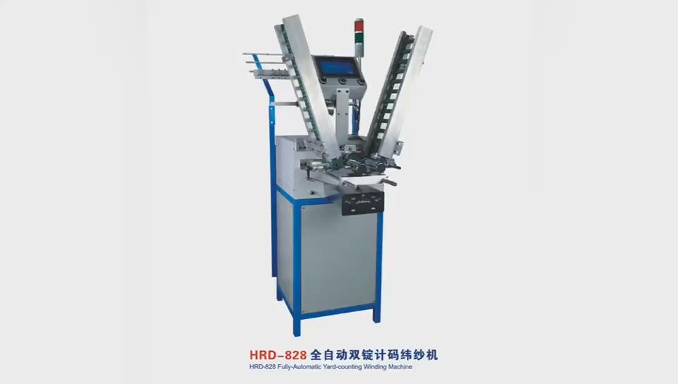 HRD-828 Counter Elektronik Kumparan Berliku Mesin Otomatis Winder Benang