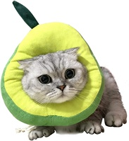 Adjustable Avocado Shape Cat Recovery Collar Cat Accessories Cat Supplies