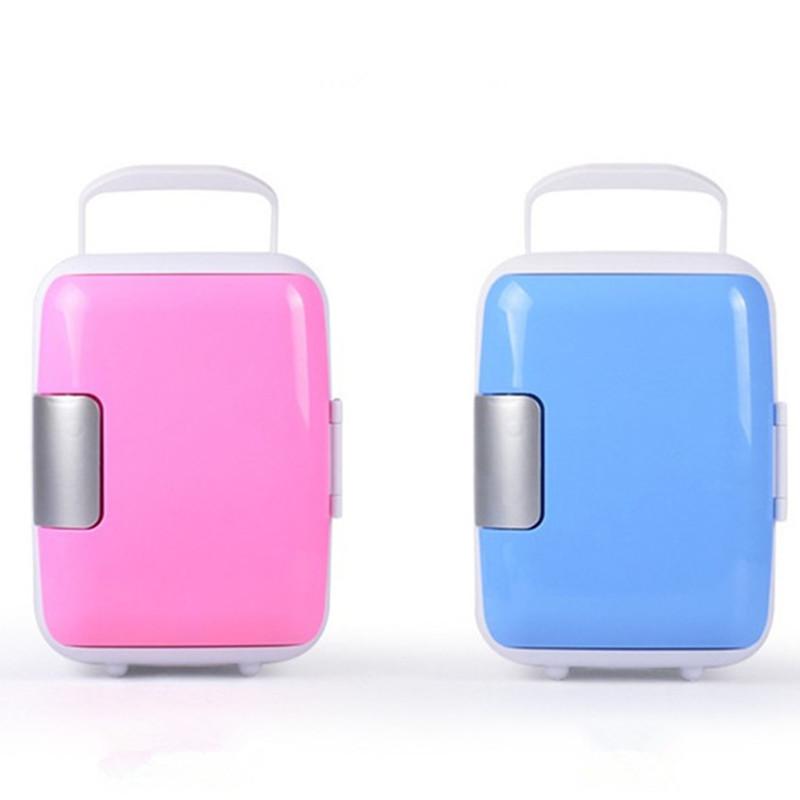 Mini Fridge For Cosmetics  Portable Cooler and Warmer Refrigerator Cosmetic Fridge 4L