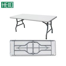 6ft used outdoor plastic folding tables and chairs for event