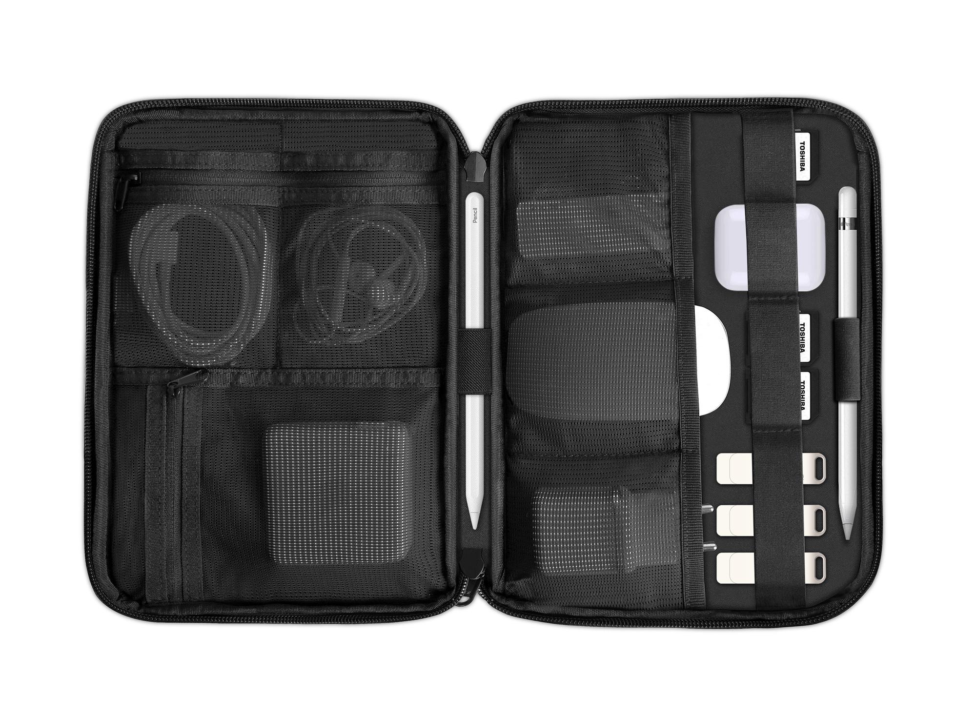WiWU New Waterproof Storage bag Travel Mate Large Capacity Accessories Cable Passport Organizer Case