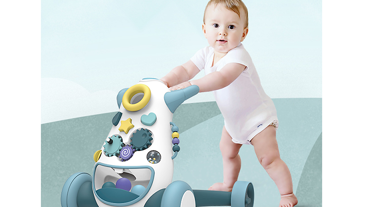 China electronic 2020 new push learning baby walker babies car toys with music and light