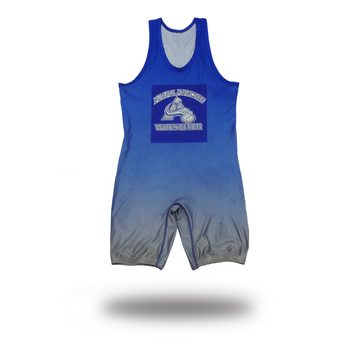 Custom Sublimated Pro Wrestling Plus Size Wrestling Singlet Dye Wrestling Apparel