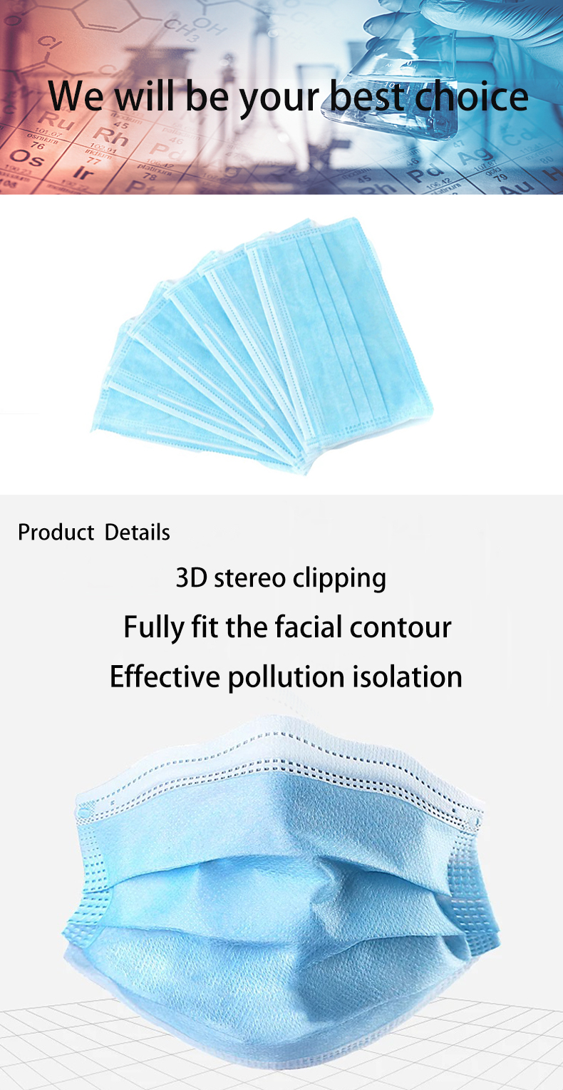 Surgical mask face  mask disposal face , organic surgical disposable masks