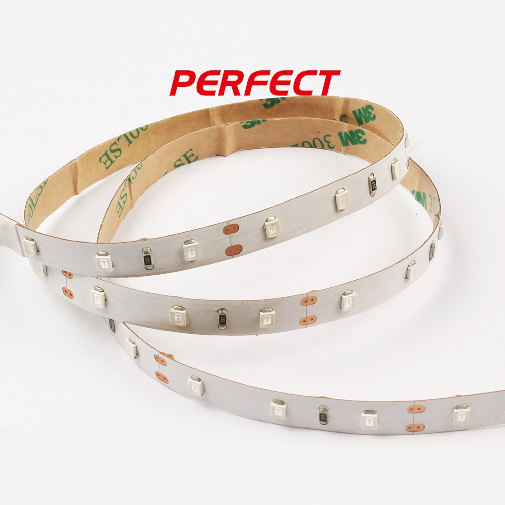 Manufacturer 60leds/m uv ultraviolet led strip 2835 UV led strip light
