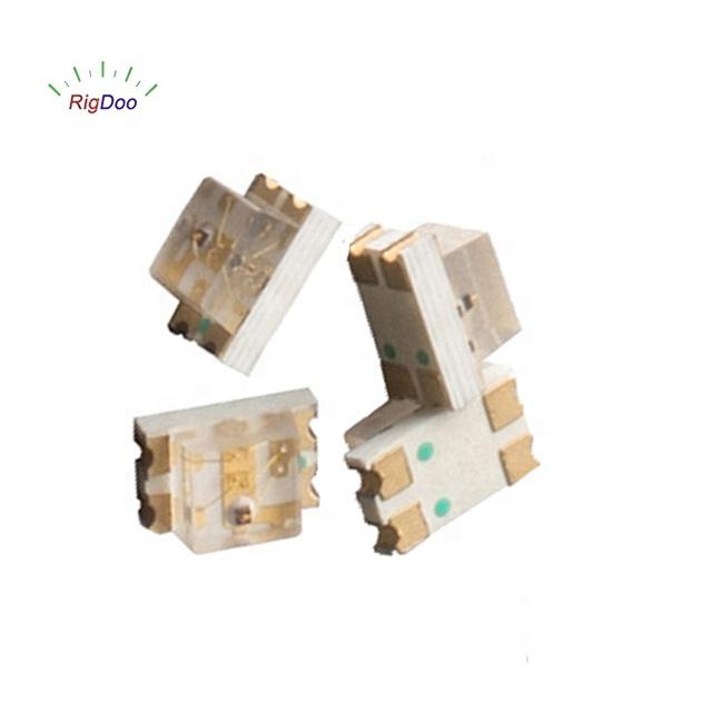 Free Sample 5vx3 reverse voltage 120 beam angle 0805 rgb smd led