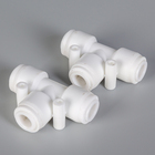 3 way union quick water tube coupler connector fitting