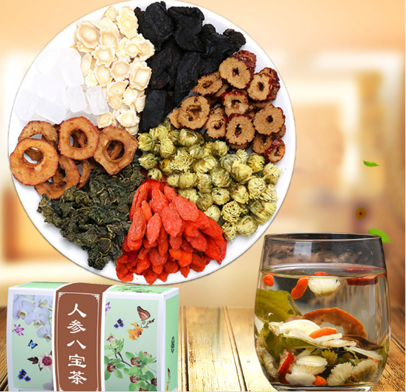 Wholesale ginseng eight treasure combination flower tea health and health flower tea - 4uTea | 4uTea.com