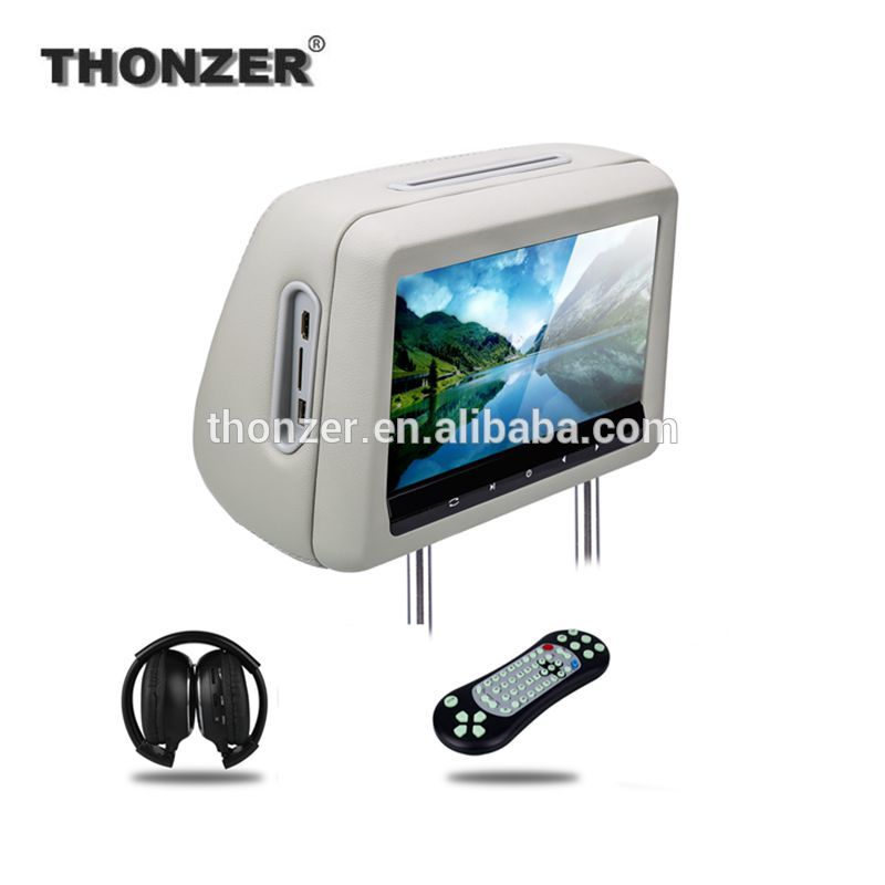 10.1 inch HD Car Headrest DVD Player Support 1080P HDMI Slot in