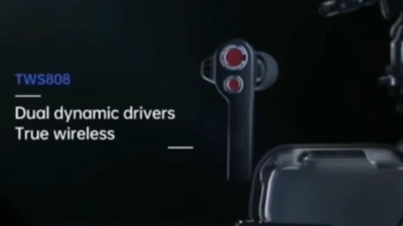 Uiisii TWS808 Bluetooth Tai Nghe Tai Nghe Earbuds Stereo Trong Tai Tai Nghe Tai Nghe Đúng Không Dây