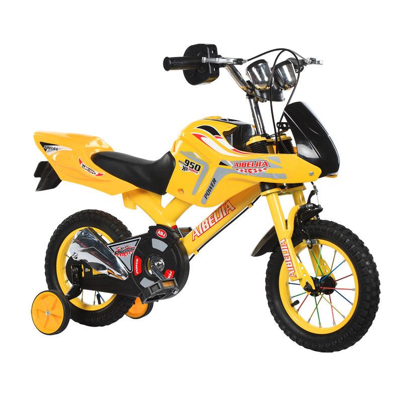 จักรยานเด็ก 16 นิ้ว Moto/สีแดงเด็กจักรยาน/ออกแบบใหม่กีฬาสไตล์เด็ก CYCLE