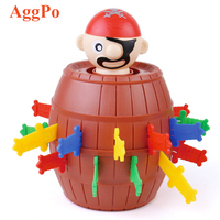 Pirate Barrel Game Pirate Funny Barrel Novelty Toy Bucket Lucky Stab Toys Game